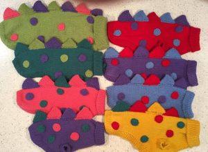 Schnauzersaurus jumpers donated to Craft Stall